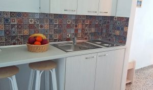 kitchen with fruits horizontal